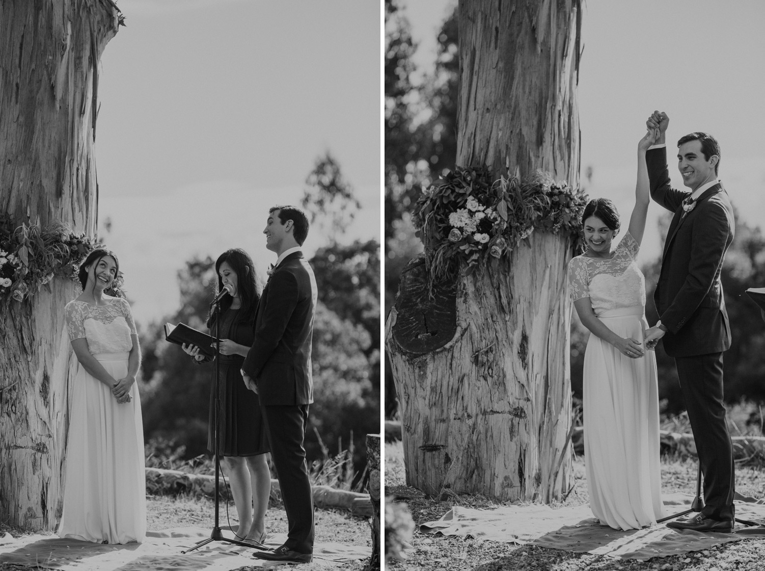 Oakland Nature Friends Wedding Photographers