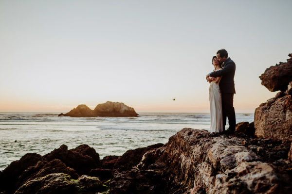 Sutro Heights Park Wedding Photographers