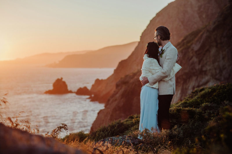 Muir Beach elopement photographers